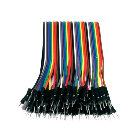 Cables DuPont 20cm 40p Macho Macho para modulos Arduino Raspberry etc
