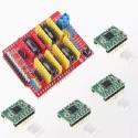 CNC Shield V3 Arduino Mas Drivers Controladores Pololu A4988