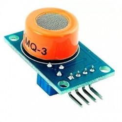 Sensor de Gas Alcohol MQ3 Arduino Raspberry