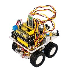 Kit Mini Chassis Keyestudio Bluetooth Wireless Para Arduino Smart Car Robot