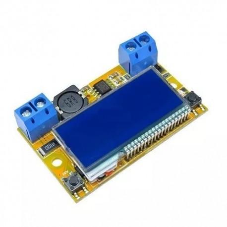 Convertidor De Voltaje Dc Dc 5-23v A 0-16.5v 3a