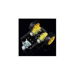 Carro Chassis 3 Ruedas Arduino Motor Robot