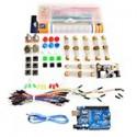Kit Arduino Generico Uno R3 Protoboard Cables