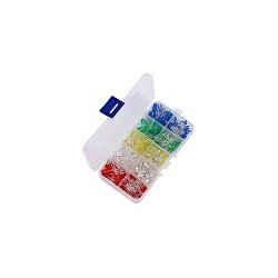 Kit 200 LED RED BLUE GREEN WHITE YELLOW 3mm 5mm