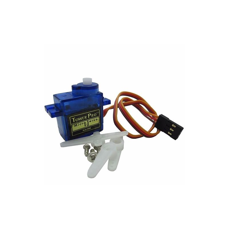 Micro servo motor sg90 180 grados for Micro servo motor arduino