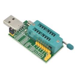 Programador de Memorias Eeprom Tipo 24 25 CH341A Arduino Pic Av