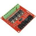 Modulo de cuatro Canales Mosfet IRF540 V4.0 Conmutador