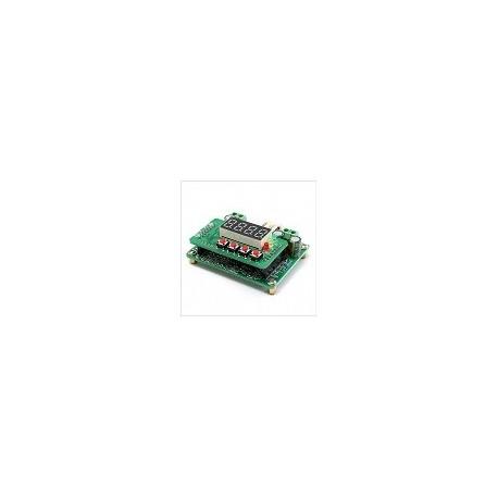 Modulo DC DC Reductor 6-40v a 0-36v Led Digital Carga de Energia Solar 12v 24v