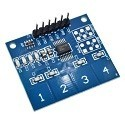 Modulo Interruptor Boton Tactil Capacitiva Arduino Ttp242