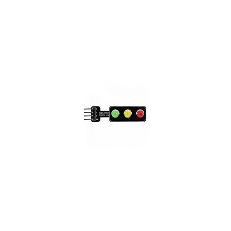 Modulo Arduino Tipo Semaforo Verde Amarilo Rojo Luz Trafico