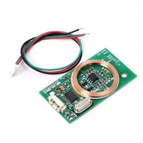Modulo Lector Rfid Inalambrico Uart 3pin 125hz Em4100 Dc 5v