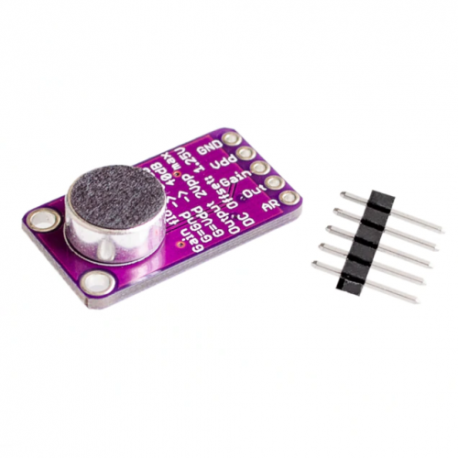 Modulo Amplificador Microfono AGC MAX9814 CMA-4544PF-W