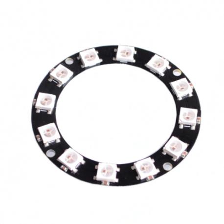 Modulo Anillo 12 LED RGB WS2812 5050
