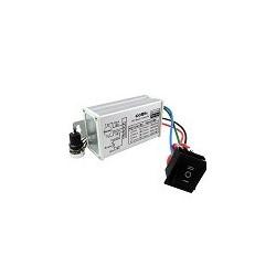 Regulador de Velocidad Motor DC 12v 24v 36v 48v 20A Con Interruptor de Inversion CCM5S DC