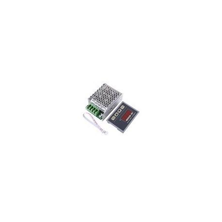 Regulador de Velocidad Con Display Digital 12-80V 30A Pwm Contol de Motor de Arranque