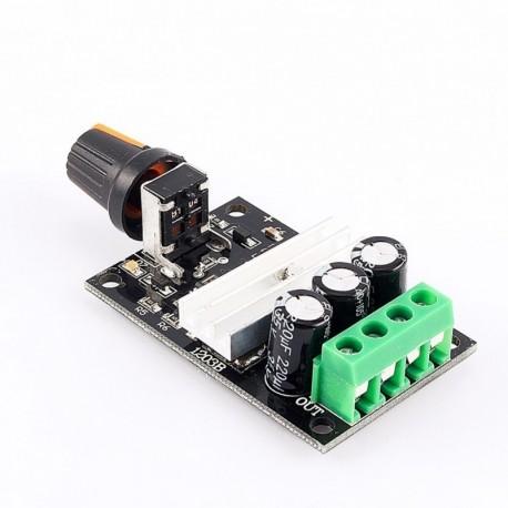 Controlador Pwm Velocidad Motor Dc 6 A 24v / 6a Driver
