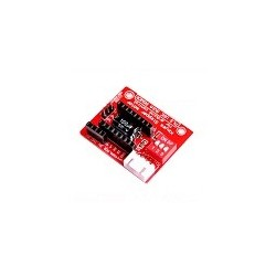 Tarjeta de Expansion de Tablero de control de Impresora 3D A4988 de Moto de Pasos DVR8825