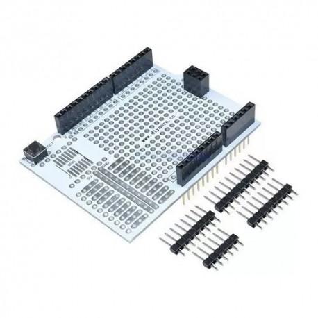 Shield Desarrollo Breadboard Protoshield Para Arduino Uno R3
