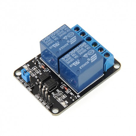 Modulo Rele 2 Canales Relay 5V Arduino PIC AVR TTL
