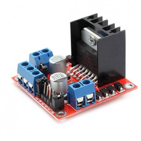 Modulo L298 Puente H Controlador De Motores Arduino, Pic Etc