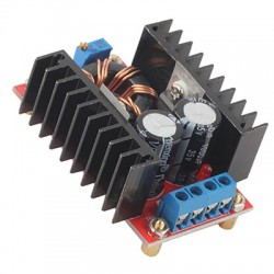 Convertidor DC-DC Tipo Boost Step Up 150W 10 - 32V