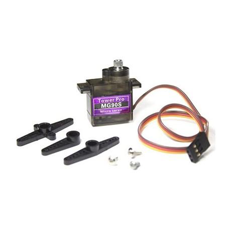 Servo Motor 9G Engranaje Metalico MG90S Arduino Raspberry