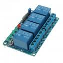 Modulo Relé 12V Optocoplador 4 Canales